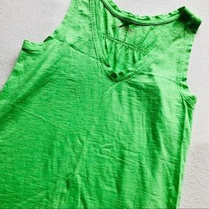 S💚Lily Pulitzer Bright Green Tank Top